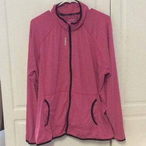 Reebok Full Zip Jacket-polyester Blend